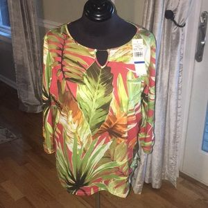 NWT Alfred Dunner Blouse PXL